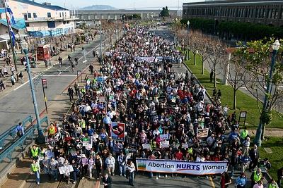 Шествие за жизнь в Сан-франциско